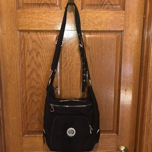 Baggallini multi pocketed crossbody purse